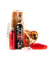 Valentijns giftbox, Vignobles Vellas Poison Rouge