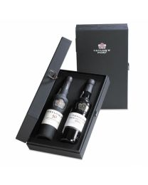 2 Vaksdoos Taylors Port 10 Years Old & Late Bottled Vintage