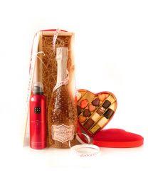 Valentijns giftbox, Pizzolato Spumante Rosé