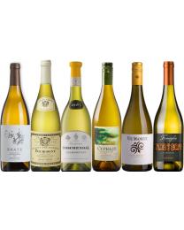 """Proefdoos """"vette"""" Chardonnay uit verschillende landen"""
