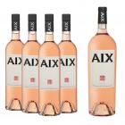 AIX Rosé 4x + 1 Magnum Proefdoos