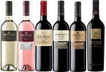 Baron de Ley Proefdoos wit, rosé, rood