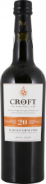 Croft 20 Year Old Tawny Port Douro, Portugal